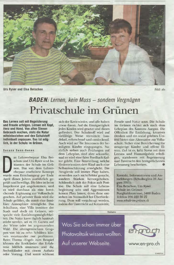 Rundschau Schule im Gruenen-11_06_2015